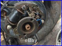 MOTEUR MOBYLETTE MOTOCONFORT type AV 88 de 1959 avec son carburateur + plateau