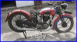 MOTOBECANE 350 culbutée R44C 1934