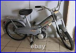 Mob Mobylette MBK motobecane 40V grise 1970 moto collection livrable