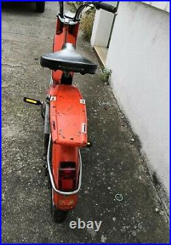 Mob peugeot 103 VS 1971 orange moto collection livrable