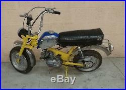 Mobylette de camping car BENELLI CITY BIKE mini bike avec guidon pliable