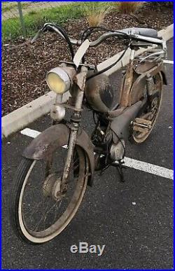 Mobylette peugeot BB 1956 2 vitesses demarre livrable