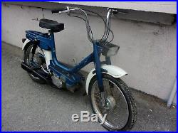 Mobylette vintage Malaguti moteur gyromatic italian moped, gilera garelli