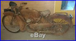 Monet goyon S3G 1948 sortie de grange moto de collection barn find carte grise