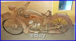 Monet goyon S3G 1951 sortie de grange moto de collection barn find