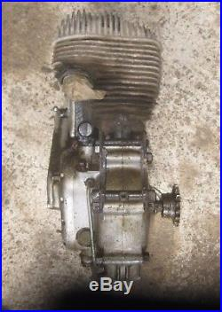 Moteur 350 lateral moto collection TERROT 350 HCT 1949