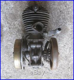 Moteur VILLIER 250 2 temps moto collection 1920 1930 monet goyon