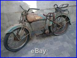 Moto alcyon 125 type 23 195 en état d'origine sortie de grange