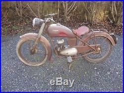 Moto de collection ULTIMA LYON 1951