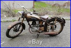 Moto de collection motobecane 125 D45S etat d'origine exceptionnel et tournante