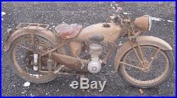 Moto de collection motobecane 125 D45S parallelogramme 1951