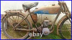 Motobécane B1 V2 à restaurer à priori de 1934 Fourche parallélogramme