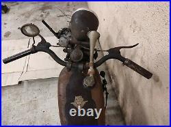 Motobecane d45a 1949 en bel état d'origine sortie grange barn find / livrable