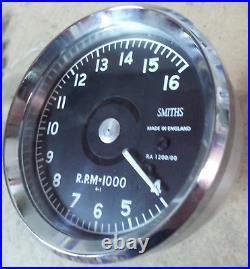 Mounting Bracket + Smiths Atrc Tachometer 16000 Norton Manx G50 Totally Remade