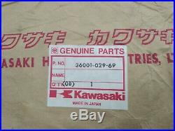 NOS 750 H2 kawasaki side panel blue