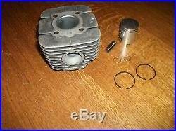 NOS Cylindre carré/Piston/Segments Motobécane AV89/98 Sommet/92/93/SP50/98/94TT