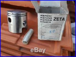 NOS Kit 75 47mm chrome Peugeot 103 Zeta Simonini