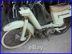 Originale mobylette a cantilever terrot skipper moteur peugeot