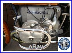 Pare chute Ø 25 mm chrome BMW R50/5 R60/5 R75/5 protection pour moteur 1969-73