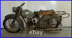 Peugeot 125 4 vitesses sortie de grange moto de collection barn find biplace
