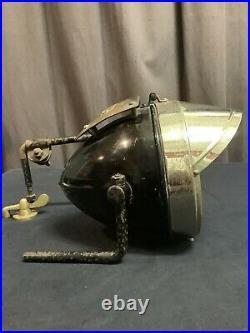 Phare Vintage Moto 1920-30 DUCELLIER Paris Motorcycle Headlight NOS