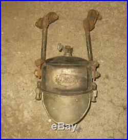 Phare acetylene LUXOR diametre 13.5cm moto de collection des années 20 30