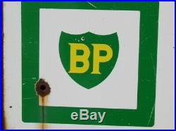 Plaque publicitaire BP ZOOM Solex