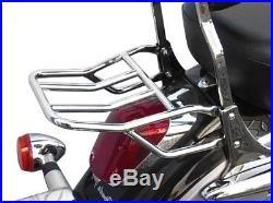 Porte-bagage chrome pour sissy bar passager Honda d'origine F6C Valkyrie GL1500C