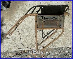 Porte bagage et boite a outils de moto de collection dollar 250 350 500