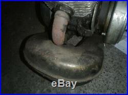 Pot echappement NINJA serpentin origin mobylette vintage Motobecane Motoconfort