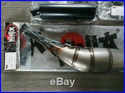 Pot échappement neuf ninja g3 mbk 51 XR MAGNUM (no bidalot polini Peugeot 103)