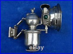RARE & TOP +++! LAMPE CARBURE / Carbide lamp HERM. RIEMANN'S PICCOLO