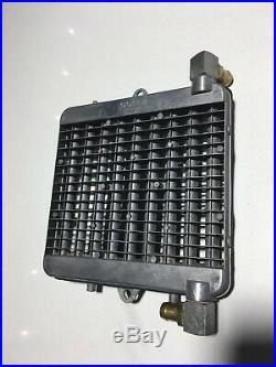 Radiateur Aluminium Polini Gaufrier Mbk 51 Peugeot 103 Mobylette Mr1 Xr Cf