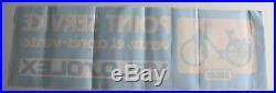 SOLEX VELOSOLEX 3800 autocolant vitrine concession parfait 93x30 cm MOTOBECANE