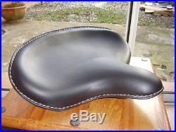 Selle cuir vintage pour Harley RPL 52004-25