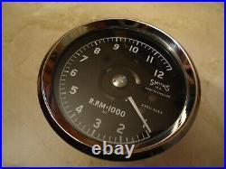 Smiths Atrc Tachometer 12000 Norton Manx, G50, 7r. Drehzahlmesser Totally Remade