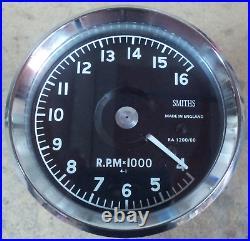 Smiths Atrc Tachometer 16000 Norton Manx, G50, 7r. Drehzahlmesser Totally Remade