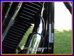 Système d'échappement modèle Softail Long Gun pour Harley Davidson et custom