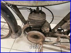 TERROT 100 MTK 1937 en tres bel état d'origine sortie grange barn find livrable