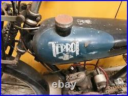 TERROT 100 VM 1934 en tres bel état d'origine sortie grange barn find / livrable