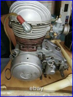 TERROT vélomoteur 125 CC ems 1 1957
