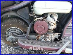 Vend Scooter Lambretta LD 125 De 1959 Peinture Origine Meuble De Metier