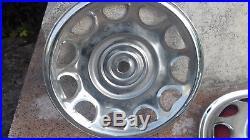 VESPA ou lambretta accessoires originaux ULMA deux enjoliveurs 8 (8pouces)