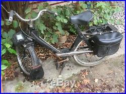 Velo Solex 3800, couleur noir à restaurer