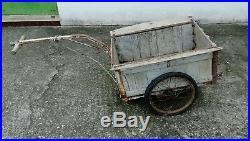 Veritable remorque michelin des années 50 60 mob solex cyclo velo collection