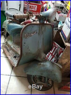 Vespa Acma 1953 A Restaurer Scooter Top! Dans Son Jus Sortie De Grange