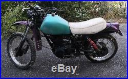 Yamaha 500 XT de 1980 1U6 a restaurer ou pour pieces livrable